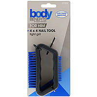Body Benefits, By Body Image, Для него, 4x4 инструмент для ногтей, 1 шт.