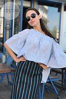 Стильная женская женская блузка модель 0611, Размеры: 1(42-48); 2(50-58), фото 2