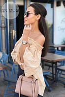 Стильная женская женская блузка модель 0611, Размеры: 1(42-48); 2(50-58), фото 7