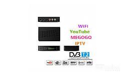 Приемник, тюнер DVB - T2 для цифрового телевиденья