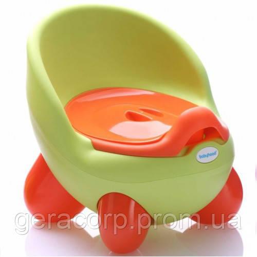 Детский горшок Babyhood BH-105 Green