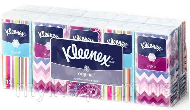 """Kleenex  10 x 10 шт. Носовые платочки """"Original"""""""