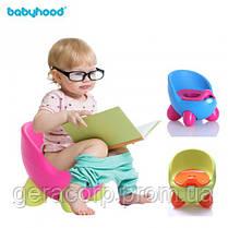Детский горшок Babyhood BH-105 Нежно-голубой, фото 3