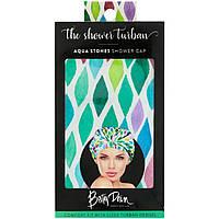 Betty Dain Creations, LLC, The Shower Turban, Шапочка для душа, водяные камни, 1 шапочка для душа