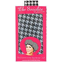Betty Dain Creations, LLC, Коллекция Socialite, шапочка для душа Houndstooth, 1 шапочка