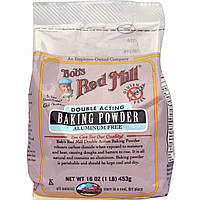 Bob's Red Mill, Пекарный порошок, без глютена, 16 унций (453 г)