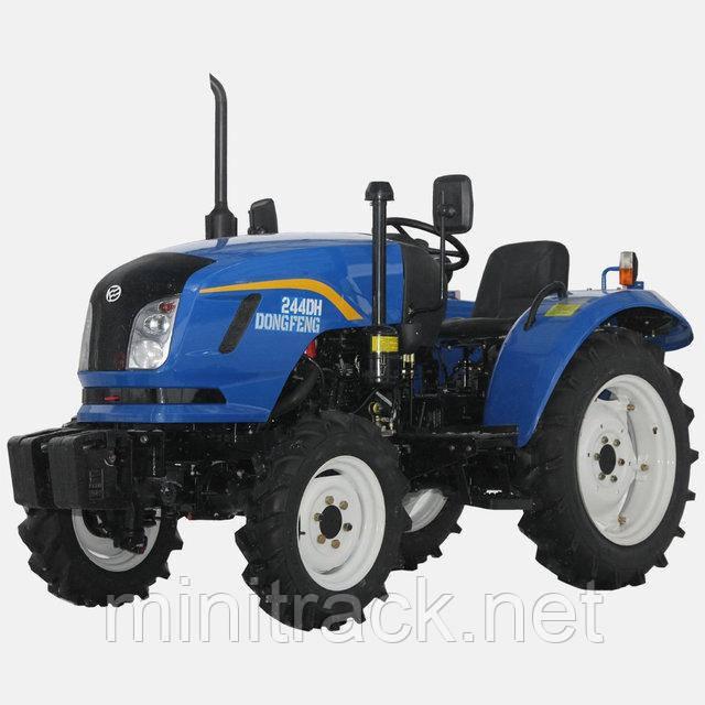 Трактор DONGFENG DF244DH, (24л.с., 4х4,3 цил., ГУР)