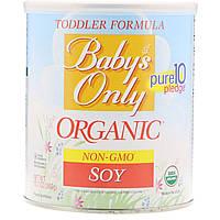 Nature's One, Baby's Only, органическая смесь для детей, с соей, 360 г