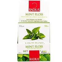 RADIUS, Organic Peppermint Floss, 55 yds 50 m, официальный сайт