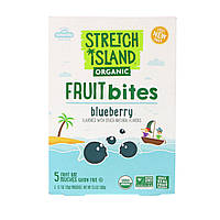Stretch Island, Fruit Bites, Blueberry, 5 pouches, 0.7 oz (100 g)