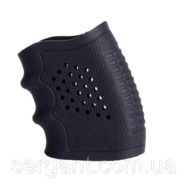 Накладка эргономичная резиновая на рукоятку пистолета