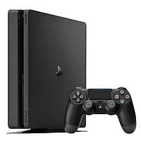 Ігрова приставка Sony PlayStation 4 Slim 500 Gb (5.5 і вище) Black (PlayStation 4 Slim 500 Gb)