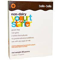 Belle+Bella, Безмолочная закваска для йогурта, 4 пакетика по 5 г
