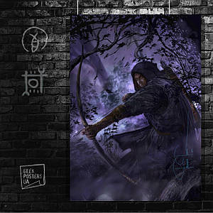 Постер Thief 3, promo art. Размер 60x47см (A2). Глянцевая бумага