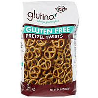 Glutino, Мини-брецели без глютена, 14,1 унц. (400 г)