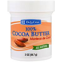 De La Cruz, 100% масло кокао, 2 унции (56,7 г)