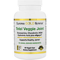 California Gold Nutrition, Полноценная вегетарианская формула для суставов, Вегетарианский глюкозамин и хондроитин, Плюс метилсульфонилметан,