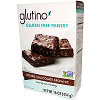 Glutino, Двойной шоколадный брауни, 454 г