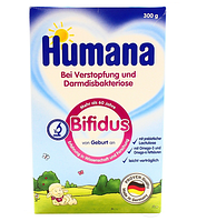 Humaha Bifidus - Хумана Бифидус – сухая молочная смесь с пребиотиками и лактуалозой, 300 г