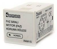 Реле защиты двигателя (контроля фаз) EMAS 3х380В AC