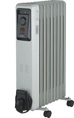 Масляный радиатор Ergo HO-0920 (9 секций)