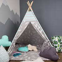 Детская палатка, хлопковый вигвам для детей, шалаш для деток, палатка для детей БЕЗ коврика и подушек