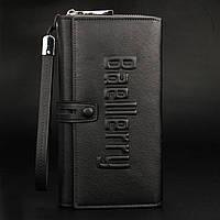 Отличный портмоне Мужской Baellerry Guero( Black)