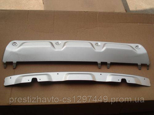 Накладка на передний и задний бампера Honda CR-V (2012-...)