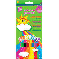 Карандаши цветные Cool For School Sunbow 12 шт
