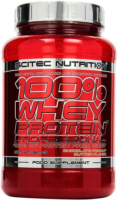 Протеин 100% WHEY PROTEIN PROFESSIONAL 920 г Вкус: kiwi-banana