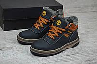 446cdddf7ac2 Детские подростковые зимние кожаные ботинки Timberland реплика. КОД  Т 14