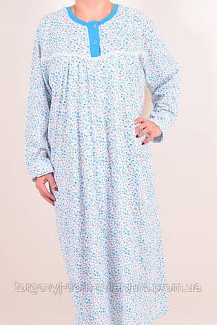 Ночная рубашка (цв.голубой) женская трикотажная Baray 5000 Размер:52,54,56, фото 2