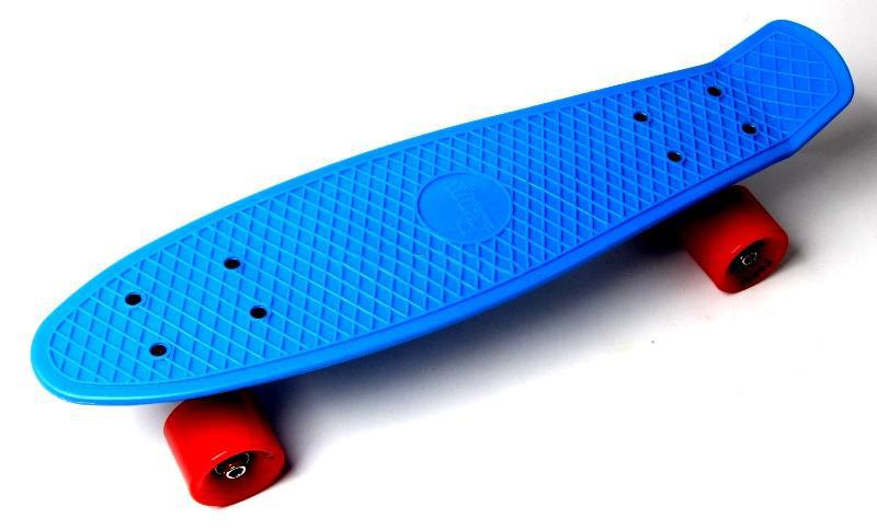 Penny Board Синий цвет Красные колеса Гарантия качества Быстрая доставка