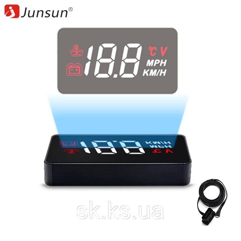 Hud дисплей сканер junsun a100 hud