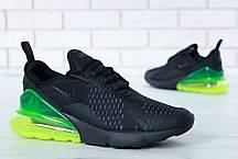 Мужские кроссовки Nike Air Max 270 Green топ реплика, фото 2
