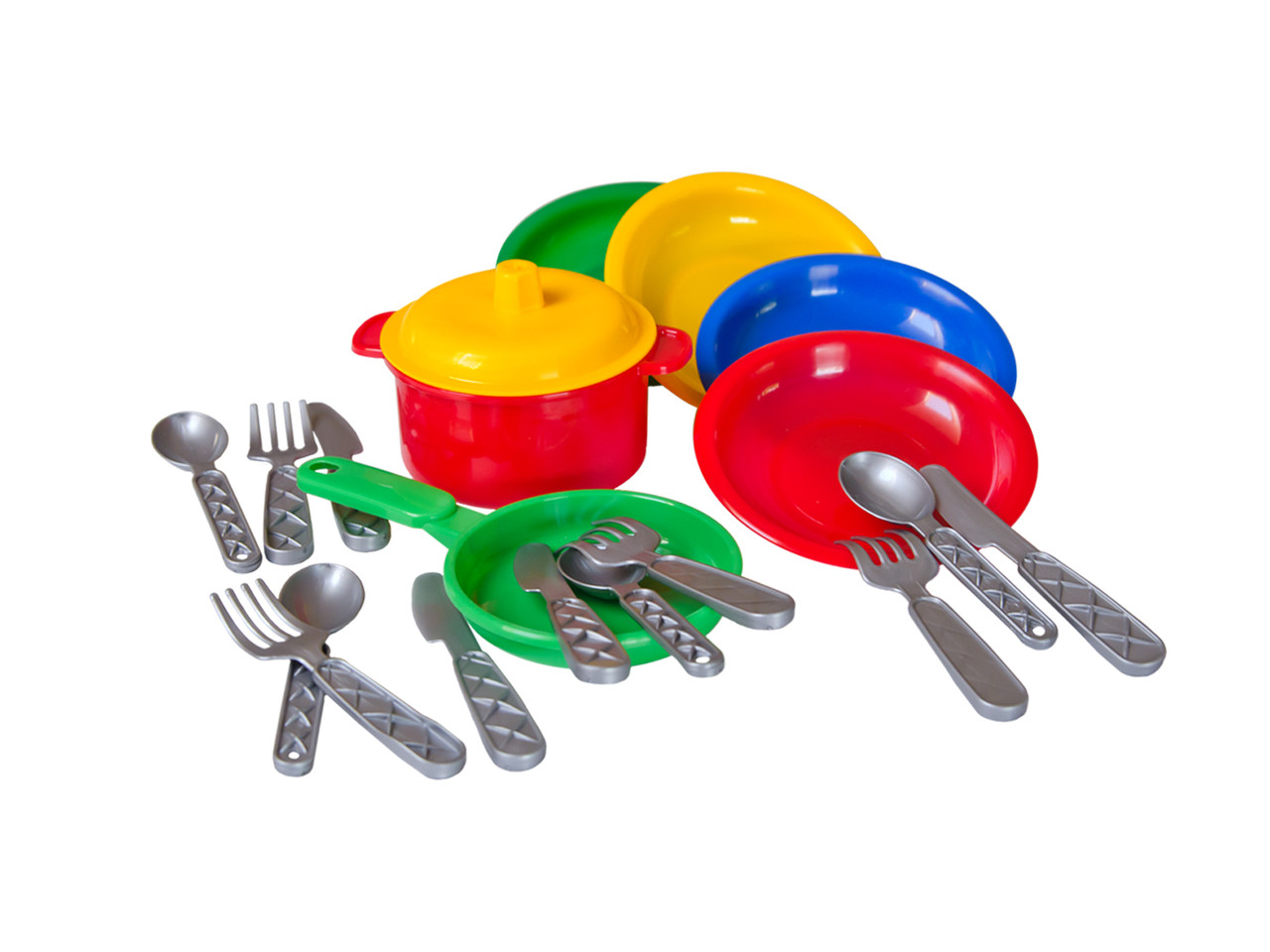 Посудка Маринка 10 пластик Технок - Style-Baby детский магазин в Киеве