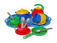 Игровой набор детской посудки Маринка 7 пластик Технок