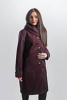 Тепле жіноче пальто з вовни