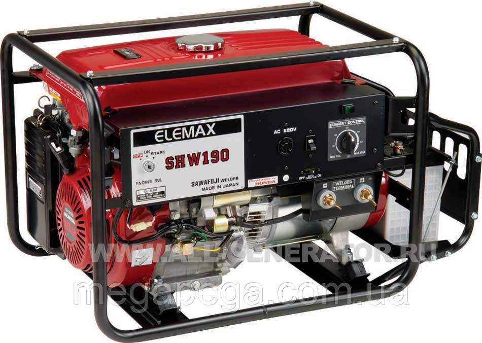 Зварювальний бензиновий генератор ELEMAX SHW190-RAS