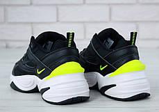 Кроссовки мужские Nike M2K Tekno Black топ реплика, фото 3