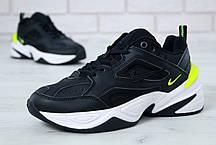 Кроссовки мужские Nike M2K Tekno Black топ реплика, фото 2