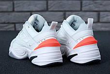 Кроссовки мужские Nike M2K Tekno белые топ реплика, фото 2