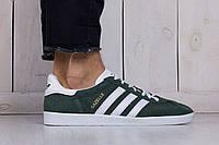 Мужские Кроссовки Adidas Gazelle Green Реплика