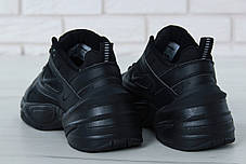 Кроссовки мужские Nike M2K Tekno черные топ реплика, фото 3