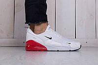 Мужские Кроссовки Nike Air Max 270 White Реплика