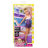 Кукла Барби гимнастка Barbie Made to Move Rhythmic Gymnast Doll, фото 4