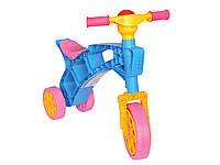 "Детский велосипед толокар ""Ролоцикл 3"" пластик Технок"