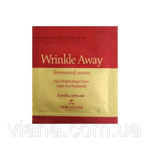 Антивозрастной ферментированный крем THE SKIN HOUSE Wrinkle Away Fermented Cream Sample 1 мл
