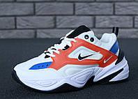 Женские демисезонные кроссовки Nike M2K Tekno белые топ реплика