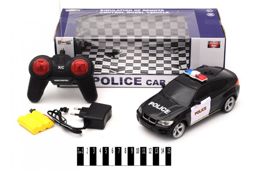 Машина на радиоуправлении Полиция, машинка 2082-3